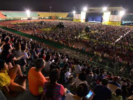 雲門戶外公演臺南登演 四萬人熱情擁戴