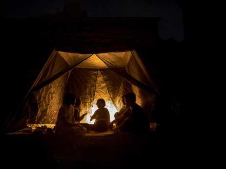 臺南文化中心33週年館慶《夜聚》 帳篷裡的時光活動新聞稿